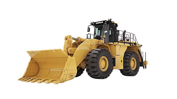 Cat® 990H Wheel Loader - Cat Equipment   Wagner Equipment