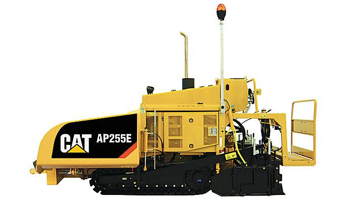 AP255E Track Asphalt Paver