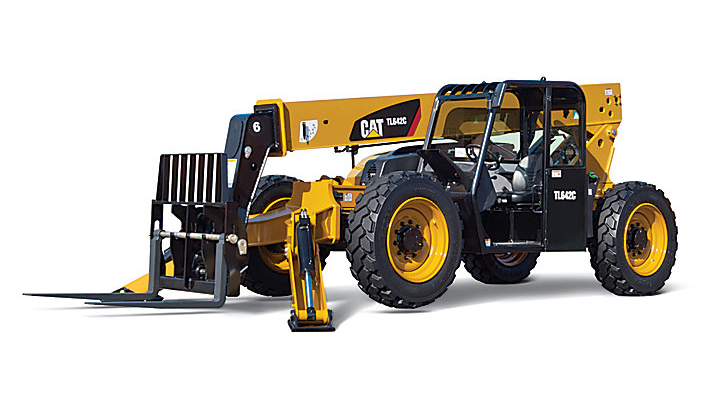 TL642C Telehandler with Stabilizers