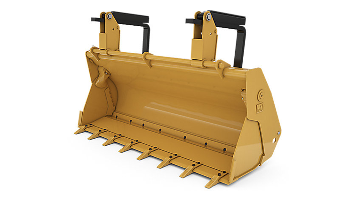 1 1 m3 (1 4 yd3) hook on Multi-Purpose Bucket - Cat Backhoe