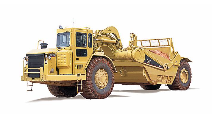 631G Wheel Tractor-Scraper