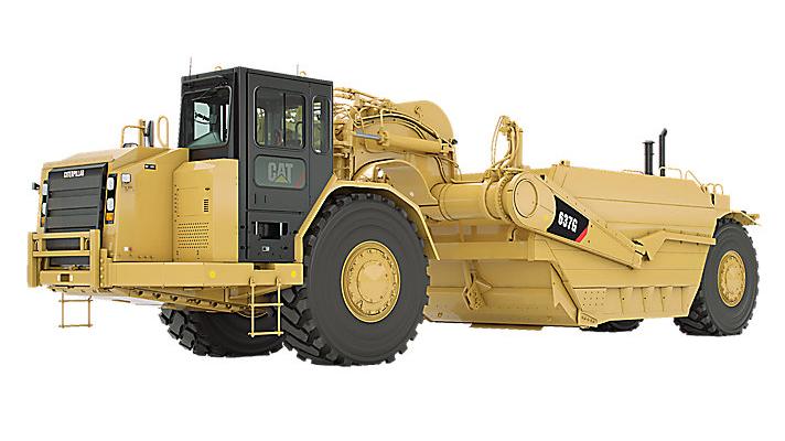 637G Wheel Tractor-Scraper