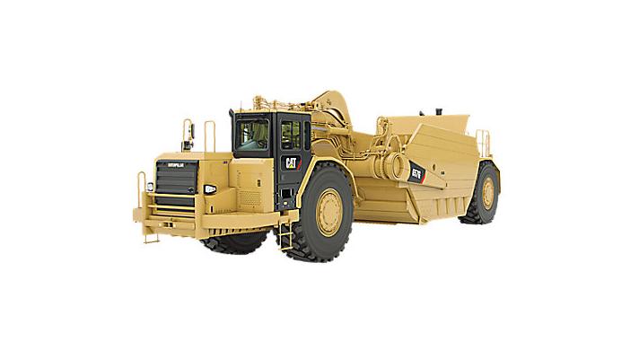 657G Wheel Tractor- Scraper