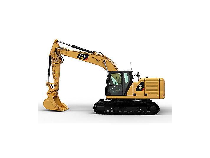 323 CAT Excavator