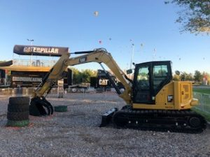 cat equipment to build a road wagner equipment co