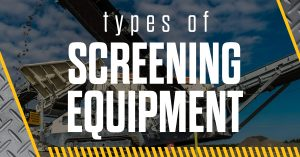 Types of Screening Equipment wagner equipment co
